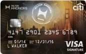 Citi® Hilton HHonorsTM Visa Signature® Card - 40,000 Bonus Points Deals